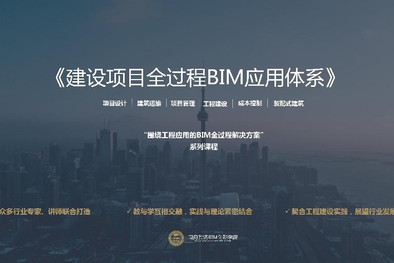 建设项目全过程BIM应用体系
