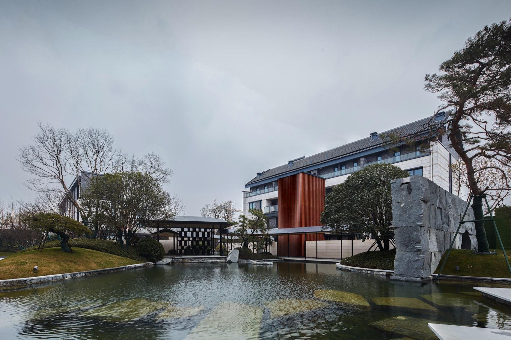 【印象空间】和昌·紫竹云山会所,用现代设计语汇演绎千年江南文脉