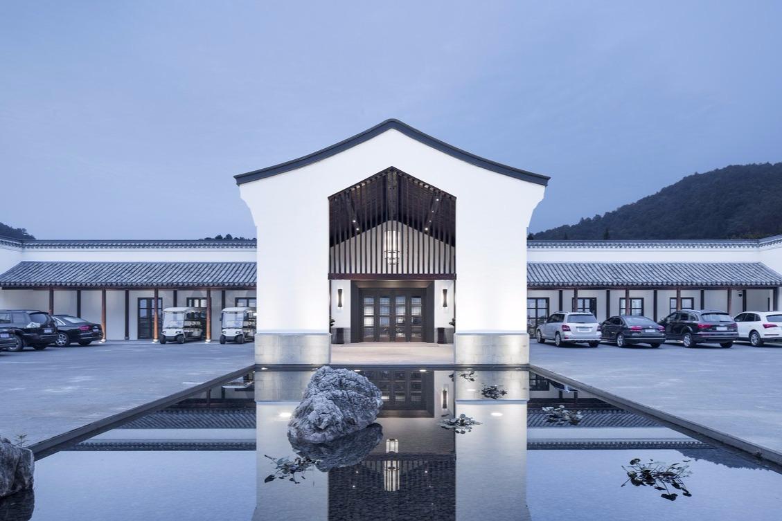 杭州静美空间,山水画意