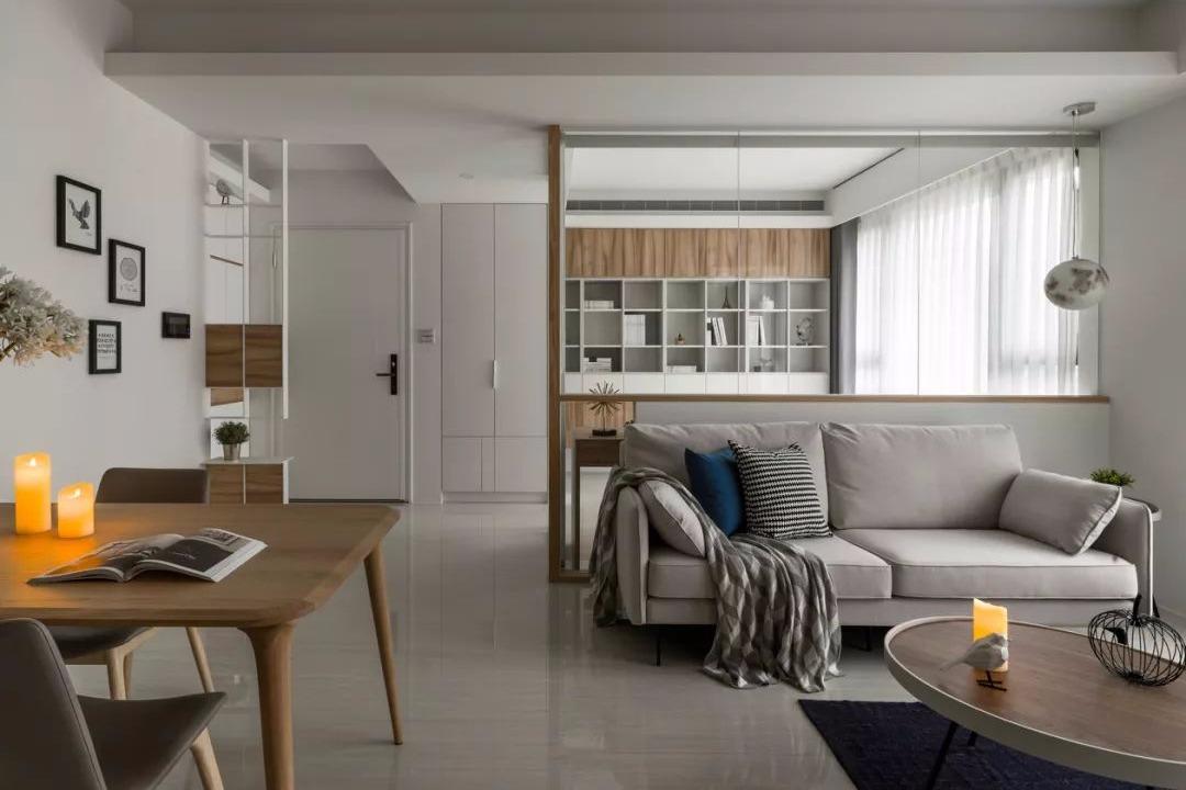 80㎡现代简约,明净温馨的小二房