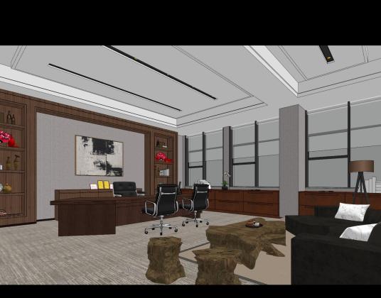 汇峰地产办公室 室内设计